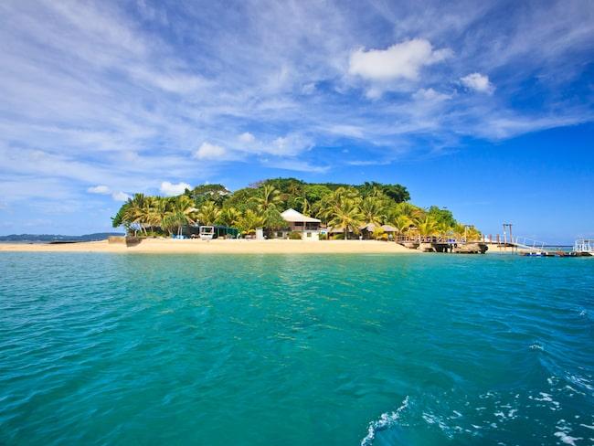 Hideaway island – en av paradisöarna i Vanuatu.