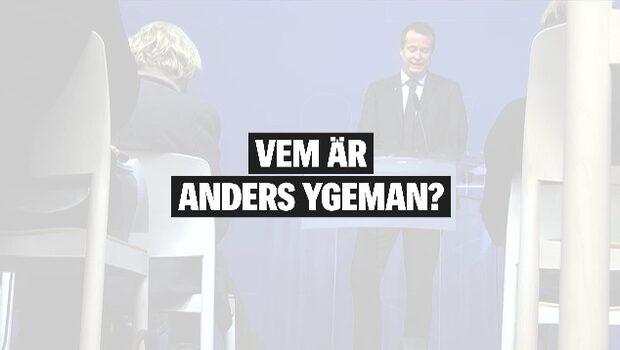 Vem är Anders Ygeman?