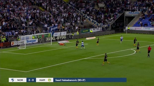 Höjdpunkter: Norrköping-Hammarby