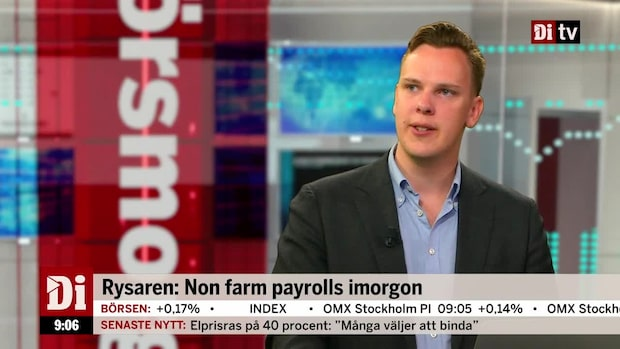 Rysaren under fredag: Non farm payrolls