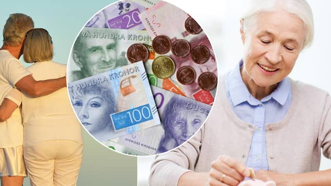 lägsta pension man kan få