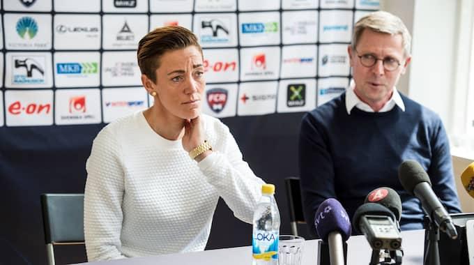 Therese Sjögran och Klas Tjebbes är huvudkaraktärer i filmen. Foto: CHRISTIAN ÖRNBERG