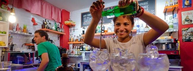MADRID. Härliga ginsorter på Carbones 13.