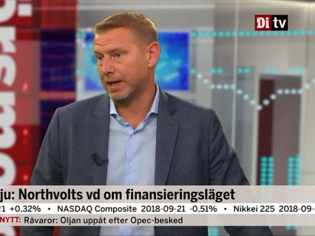 """Northvolts vd: """"Bygget ska vara klart på vårkanten"""""""