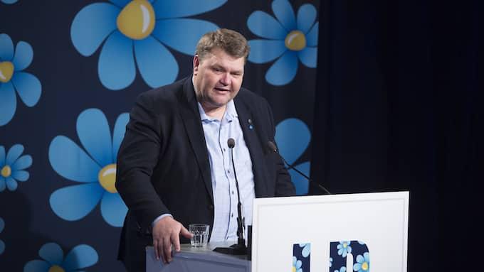 Peter Lundgren, EU-parlamentariker (SD). Foto: SVEN LINDWALL