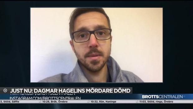 Dagmar Hagelins mördare dömd