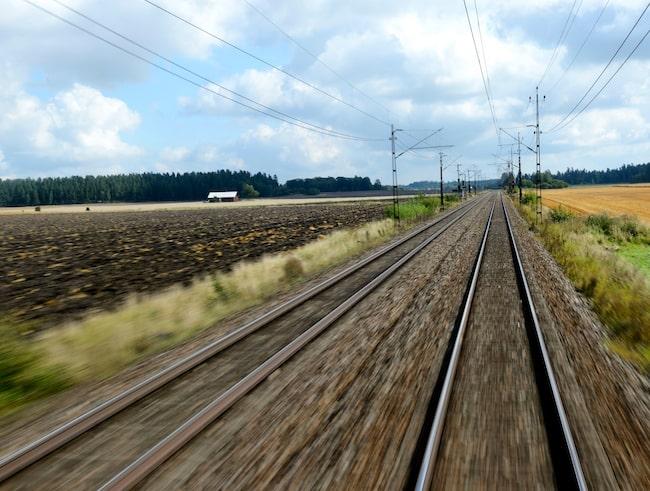Vänsterpartiet vill satsa på järnvägen i Norrland...