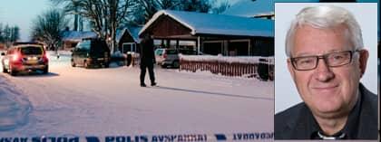Kommunalpolitikern Bernt Andersson (S) knivhöggs i magen utanför sitt hem i Umeå på onsdagsmorgonen. Foto: Scanpix/Umeå kommun