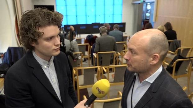 """Svend Dahl: """"V måste vissa vilken betydelse man har i riksdagen"""""""