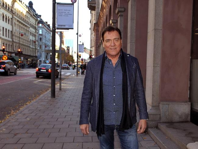 Christer Sjögren har fyllt 68 och firar 50 år som artist.