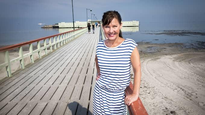 Anna-Lena Brundin har varit ambassadör för skånsk humor i drygt 35 år. Foto: CHRISTER WAHLGREN / KVP/ EXPRESSEN