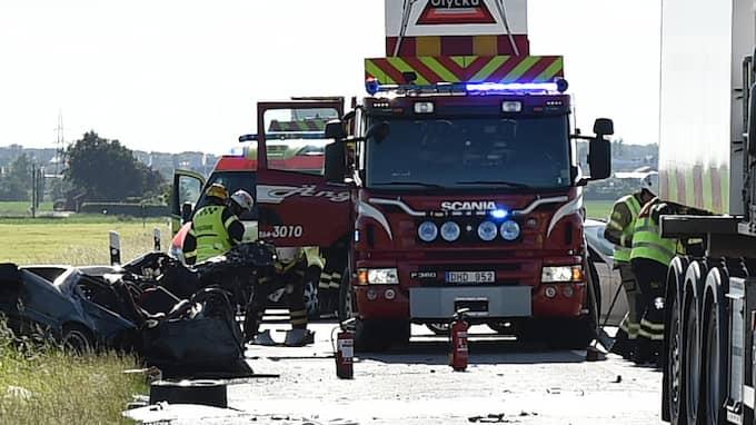Olyckan utreds som misstänkt vårdslöshet i trafik och vållande till annans död. Foto: / Jan Emanuelsson / TOPNEWS.SE