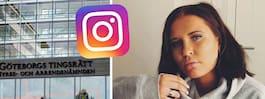 Rånaren sökte upp Emelie på Instagram