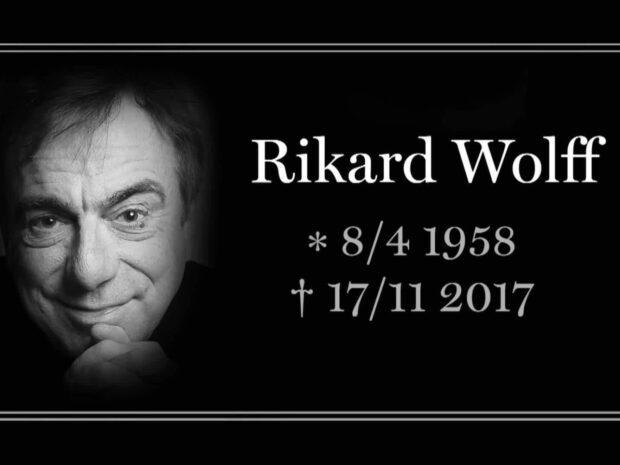 Rikard Wolff är död - blev 59 år gammal