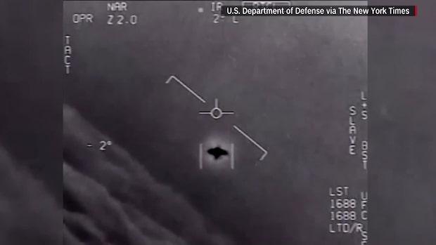 Amerikanska militären: UFO-filmerna är äkta