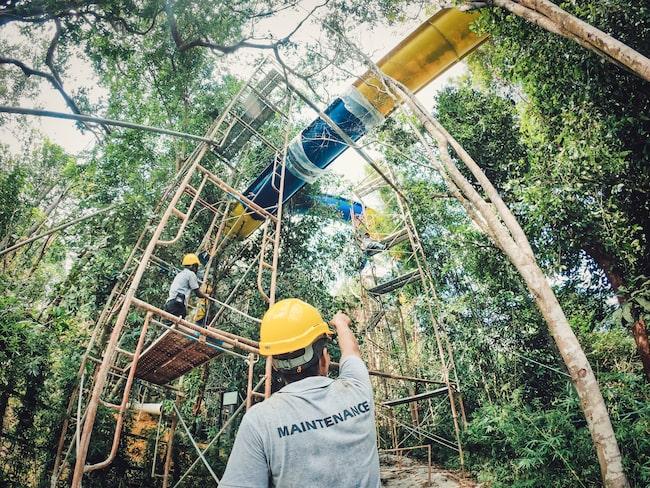 Banan kommer att bli huvudattraktionen i nöjesparken Escape Theme Park på ön Penang i Malaysia.