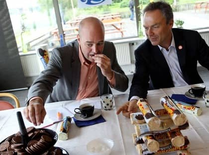 Alliansen presenterade sin ungdomssatsning under besöket på Göteborgs kex. Foto: Robban Andersson