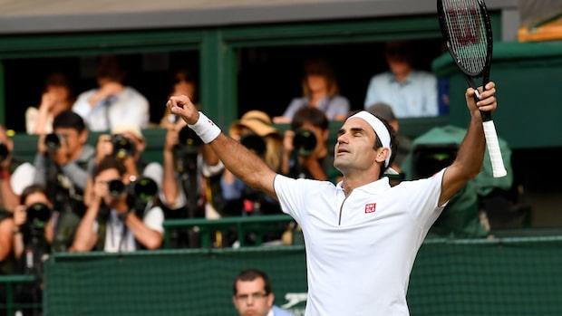 Federer till final efter jätterysare