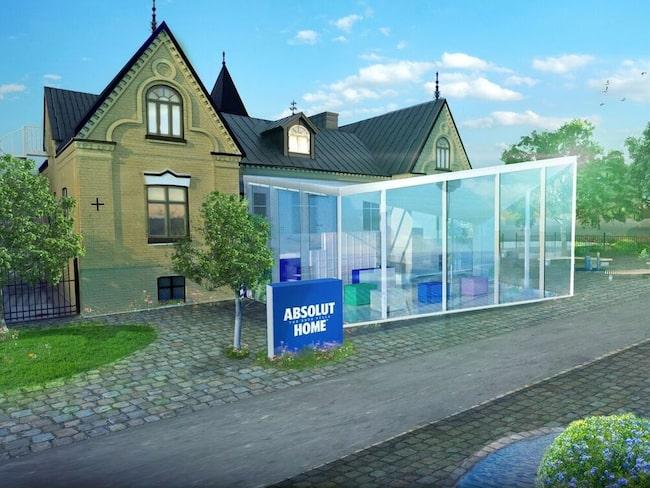 I sekelskitsbyggnaden ska nya muséet öppna.