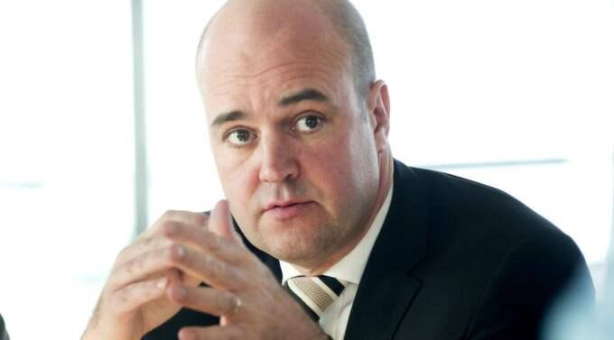 Statsminister Fredrik Reinfeldt. Foto: Bertil Ericson / Scanpix