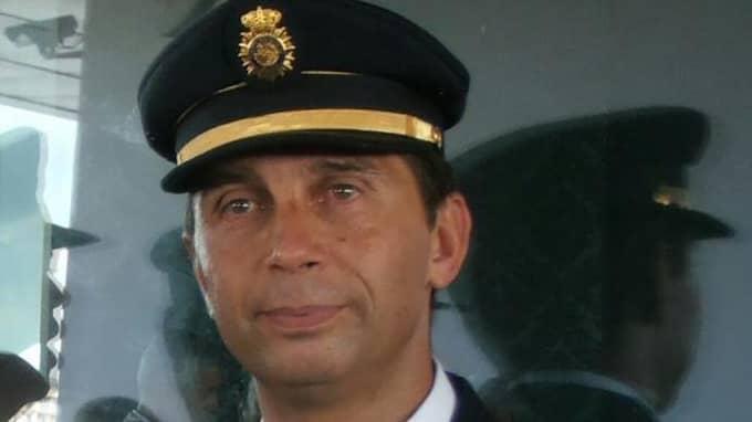 Den 51-årige polismannen Blas Gaméz Ortiz dödades i Valencia. Foto: Privat