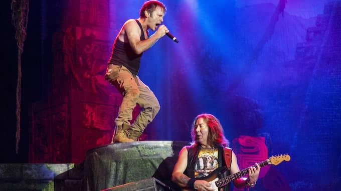 Så här såg det ut när Iron Maiden spelade på Ullevi i Göteborg sommaren 2016. Foto: ANDERS YLANDER / ANDERS YLANDER GT/EXPRESSEN