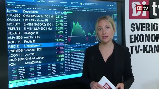 Di Marknadskoll - Poolia rusar på stigande Stockholmsbörs