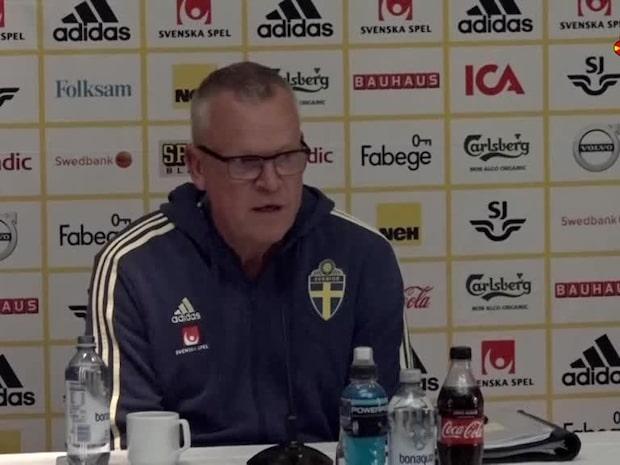 Janne Andersson om läget kring Granqvist och Quaison