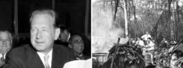 Hammarskjöldfallet granskas på nytt – av en ubåtsutredare