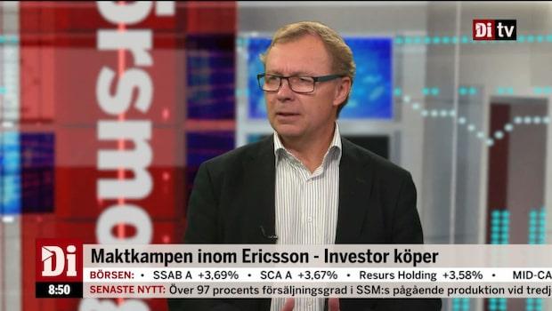 Maktkampen inom Ericsson - Investor köper