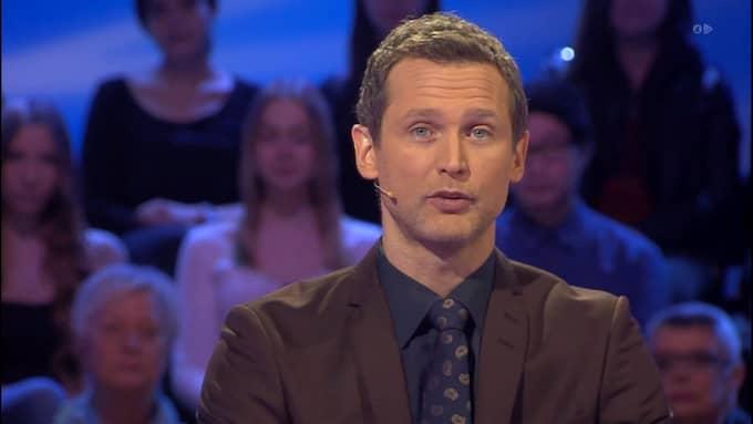 """Rickard Sjöberg i """"Postkodmiljonären"""" Foto: / TV4"""