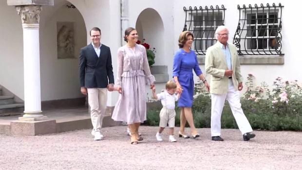 Alla de bästa klippen från kronprinsessans födelsedag