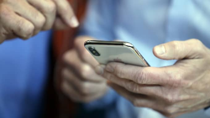Apple visade nya Iphone X på tisdagskvällen. Foto: MARCIO JOSE SANCHEZ / AP TT NYHETSBYRÅN