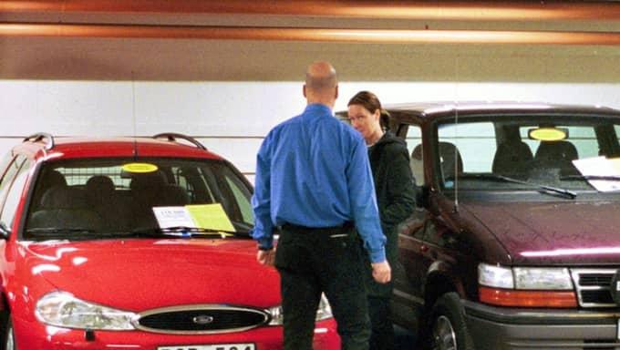 Värderingen av din bil kan ligga bara några knapptryck bort. Men det är värt att läsa noga innan man knappar in registreringsnumret. Foto: Jan Düsing