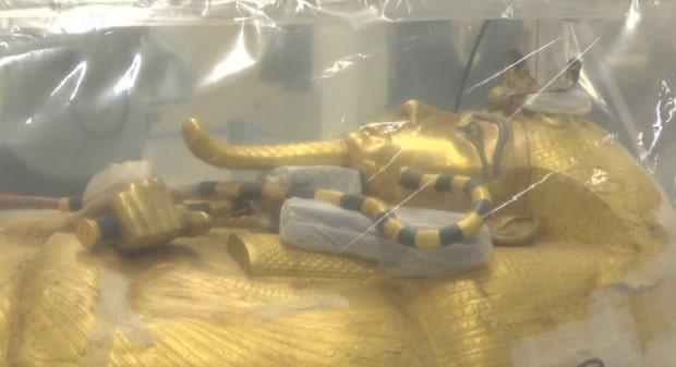 Kände faraonens kista visas upp