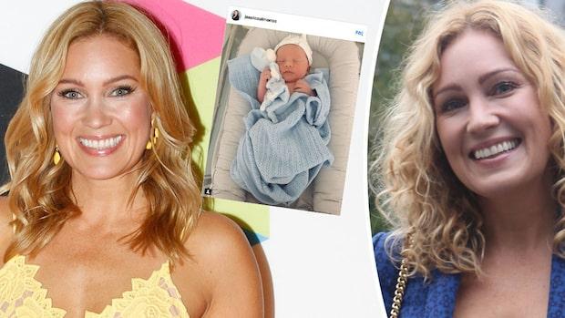 Bebislyckan: Jessica Almenäs har fått barn