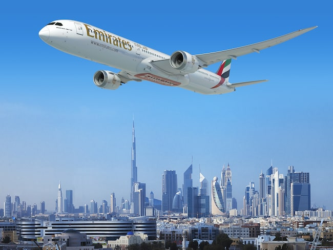 Flygbolaget Emirates storhandlar Boeing 787-10 – men hur står det till med vingarna?