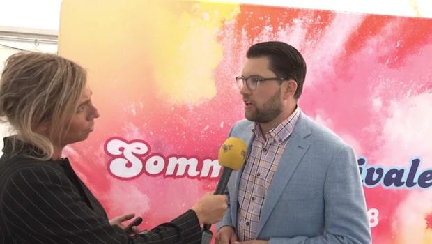 "Jimmie Åkessons (SD) kritik mot Dan Eliasson: ""vandrande katastrof"""