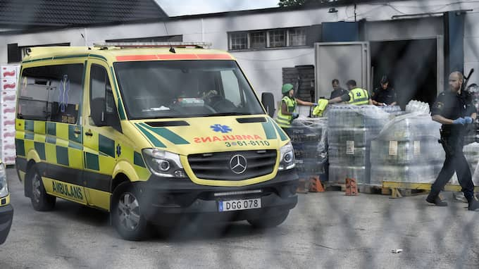 I augusti var det en skjutning på Bragegata i Malmö. Foto: JENS CHRISTIAN