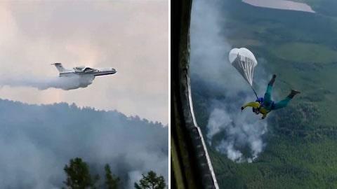 Minst 50 skogsbränder härjar i Sibirien