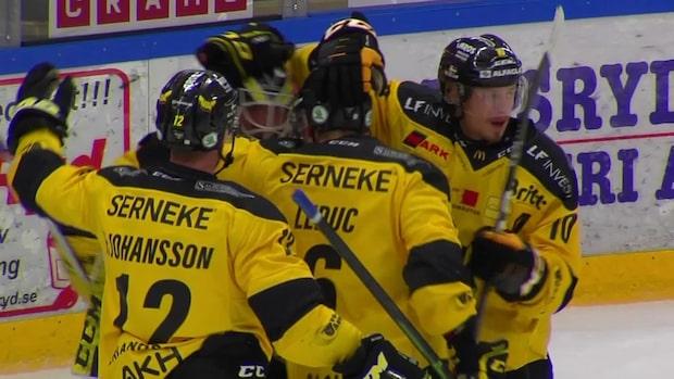 Höjdpunkter: Tingsryd-Västerås i hockeyallsvenskan