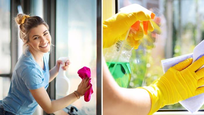 blanda egen fönsterputs till kärcher