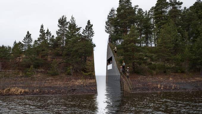 ÄRR. Konstnären Jonas Dahlbergs minnesmonument kommer aldrig förverkligas. Foto: / EPA TT NYHETSBYRÃÖN