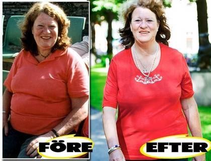 Maria Bratt tappade åtta kilo med metoden.