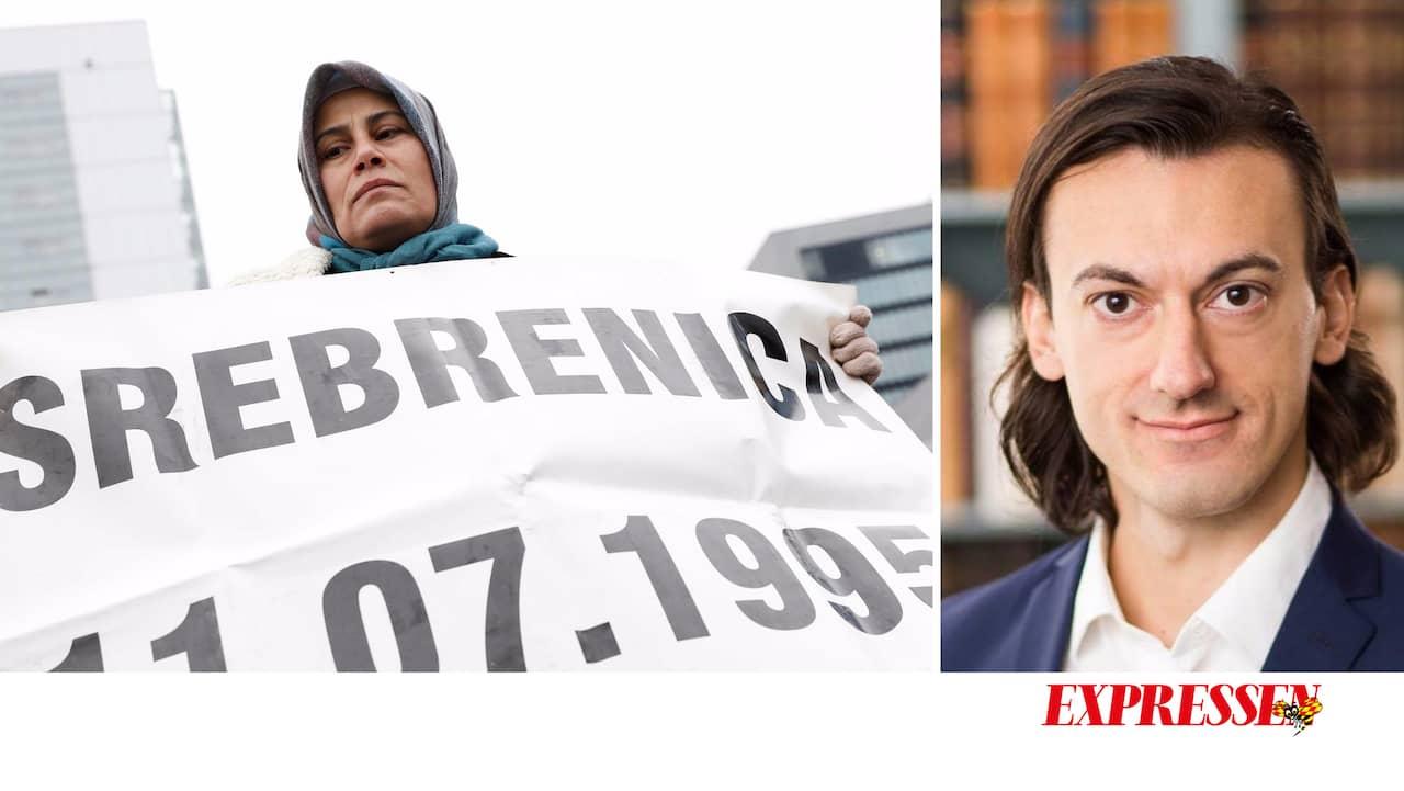 Vänstern svek Srebrenica