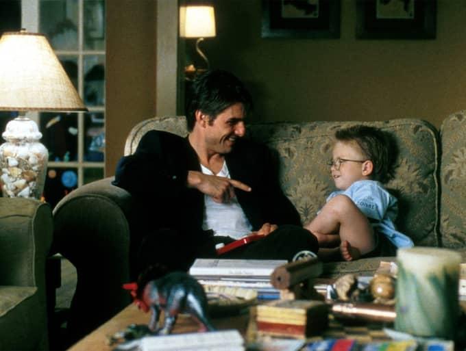 """Jonathan Lipnicki var barnskådespelaren i filmen """"Jerry Maguire"""". Här med skådespelaren Tom Cruise Foto: / FILMBOLAG"""