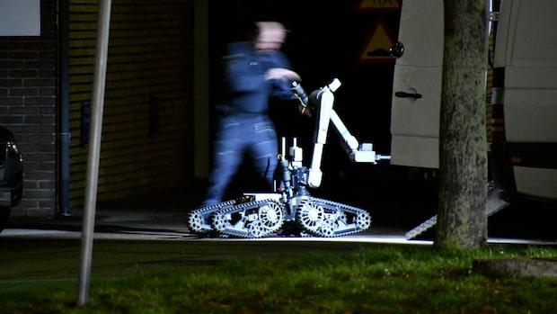 Misstänkt föremål vid Migrationsverket i Malmö