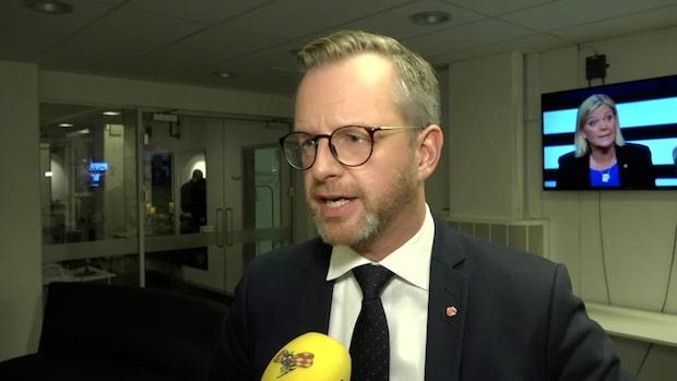 """Damberg om M:s besked: """"Det är väl positivt"""""""