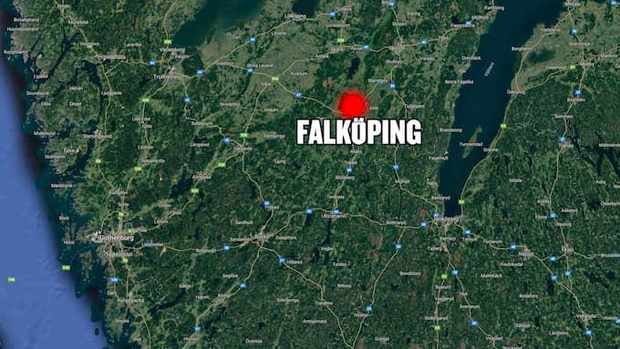Händelsen inträffade i Falköping under torsdagen. Foto: Googlemaps