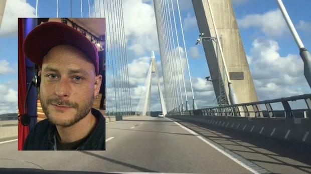 Sista spåren efter försvunne Magnus – Uddevallabron central